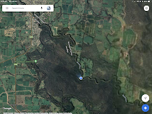 Map of Campsite - Gunbower Island, River Murray